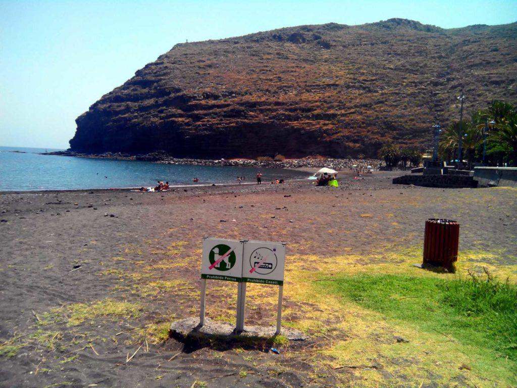 Playa de San Sebastian la Gomera